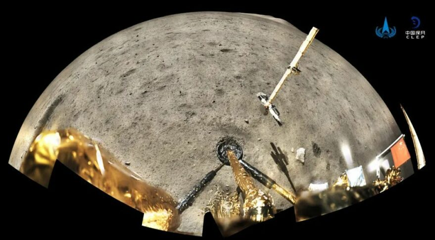 China has not yet given any lunar samples by NASA